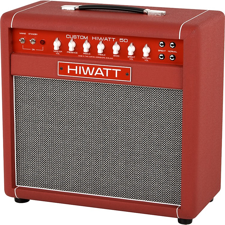 hiwatt custom 50w 1x12 tube guitar combo amp music123. Black Bedroom Furniture Sets. Home Design Ideas