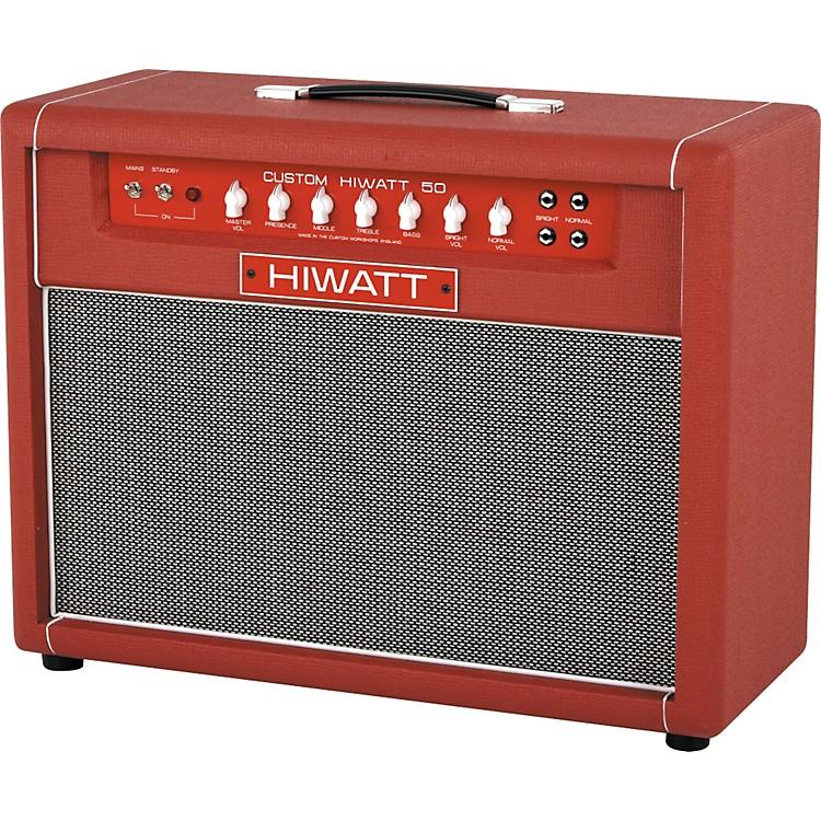 Hiwatt Custom 50w 2x12 Tube Guitar Combo Amp Music123