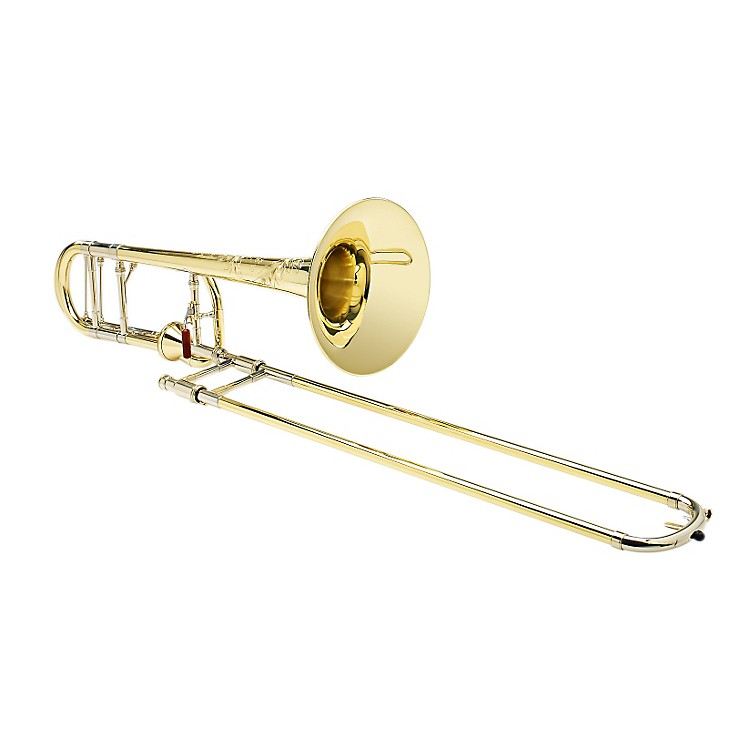 S.E. SHIRES Custom 7YM Tenor Trombone with Axial-Flow F Attachment Medium Yellow Brass Bell Axial Valve