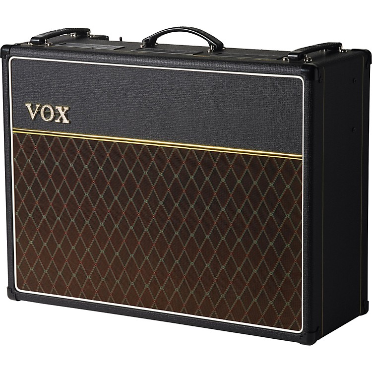 Vox Custom AC30C2 30W 2x12 Tube Guitar Combo Amp Black