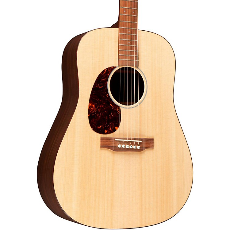 Martin Custom D Spruce and Rosewood Dreadnought Acoustic Guitar Left-Handed