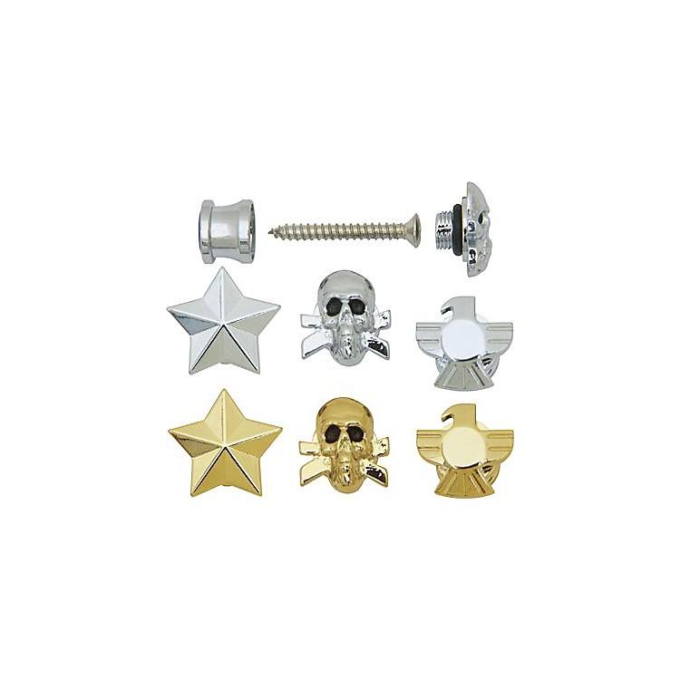 Grover-TrophyCustom Designed Strap ButtonsChromeSkull