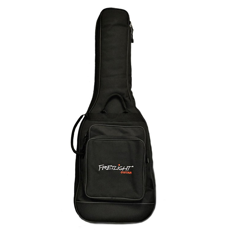 FretlightCustom Electric gig bag with 40mm foam, two pockets and backpack pads
