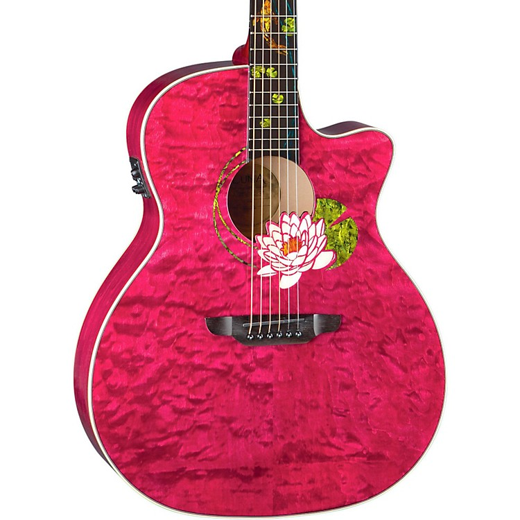Luna GuitarsCustom Grand Concert Acoustic Electric Guitar