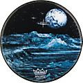 Remo Custom Graphic Blue Moon Resonant Bass Drum Head