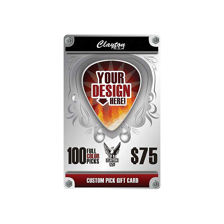 Clayton Custom Pick Gift Card