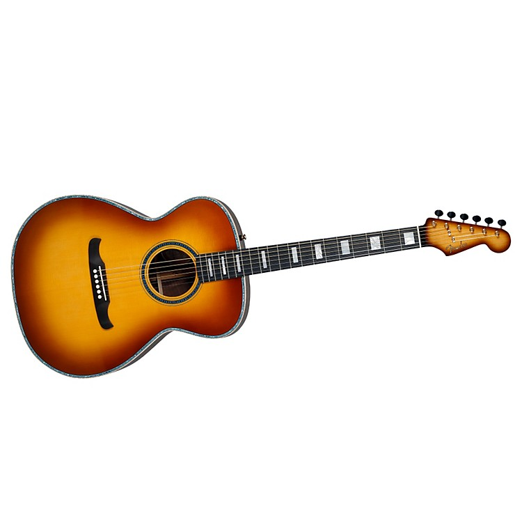 Fender Custom Shop Newporter Acoustic Guitar Sunburst