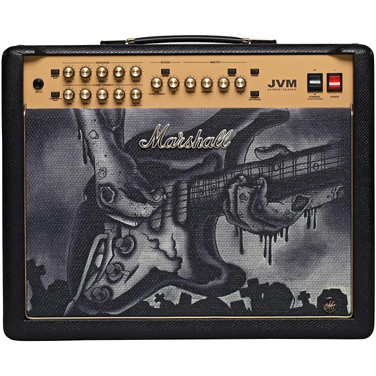 MarshallCustom Tattoo JVM215C 50W Tube Guitar ComboPhil Black