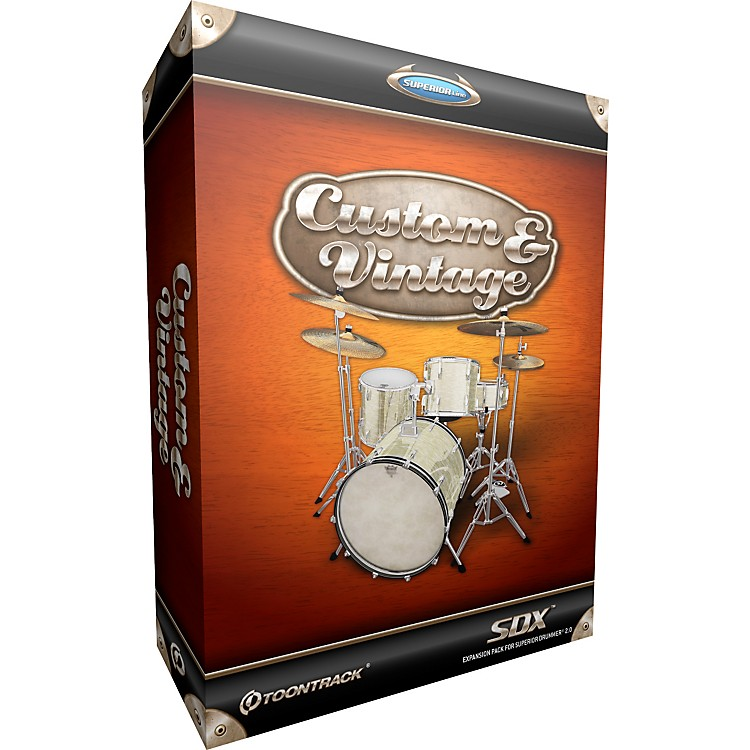 ToontrackCustom & Vintage SDX Drum Library for Superior Drummer
