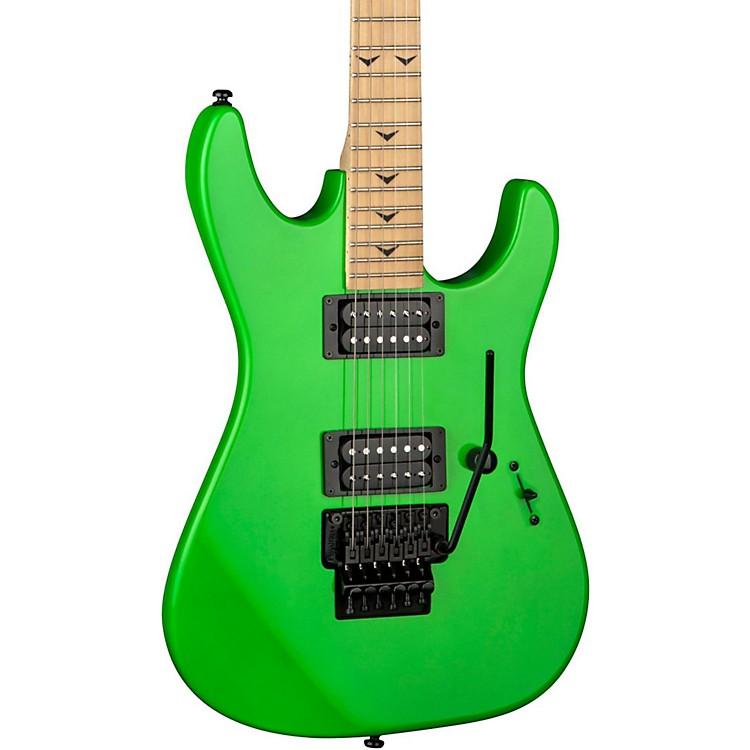 DeanCustom Zone II Floyd Electric GuitarNuclear Green