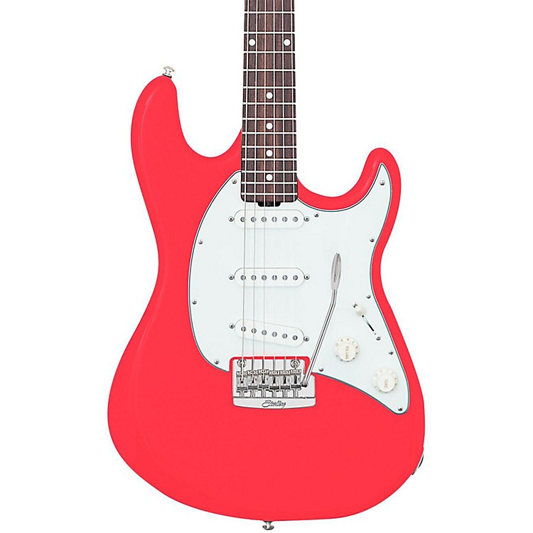 Sterling by Music Man Cutlass CT50 Electric Guitar Fiesta Red