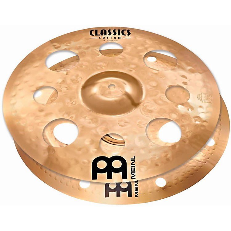 Meinl Cymbal Stack Pair with Trash Crash and Trash China 16 in.