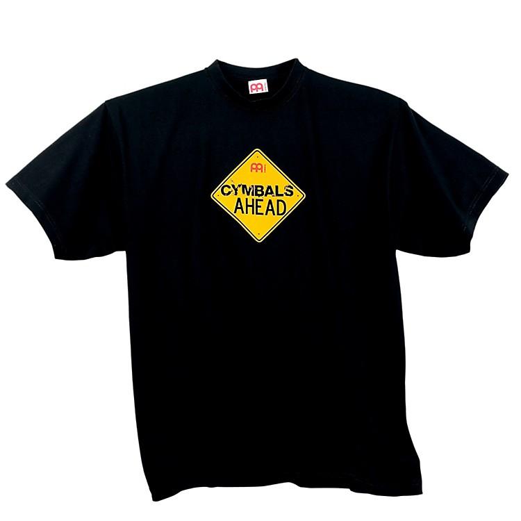 MeinlCymbals Ahead T-Shirt, BlackBlackSmall