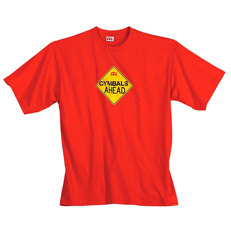MeinlCymbals Ahead T-Shirt, Red