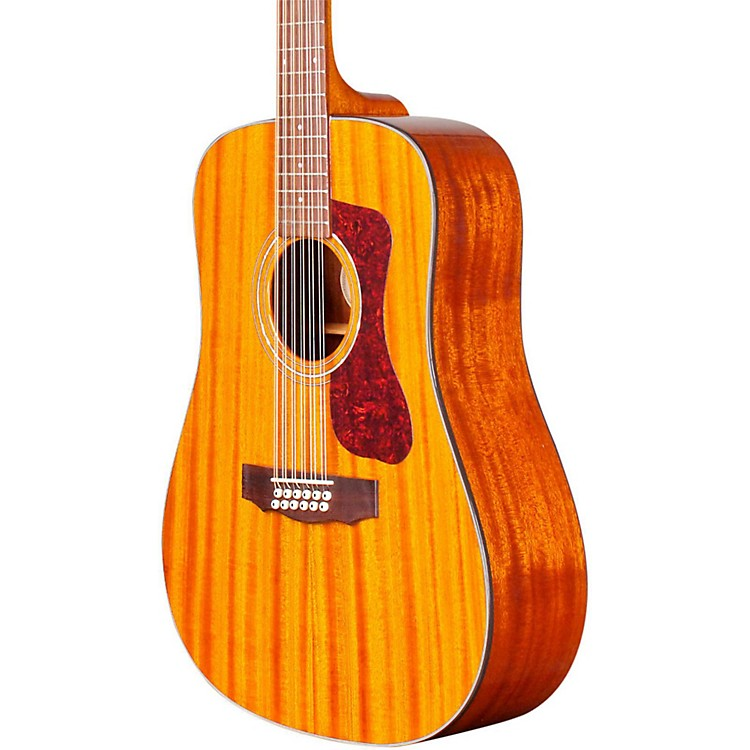GuildD-1212E 12-String Acoustic-Electric GuitarNatural