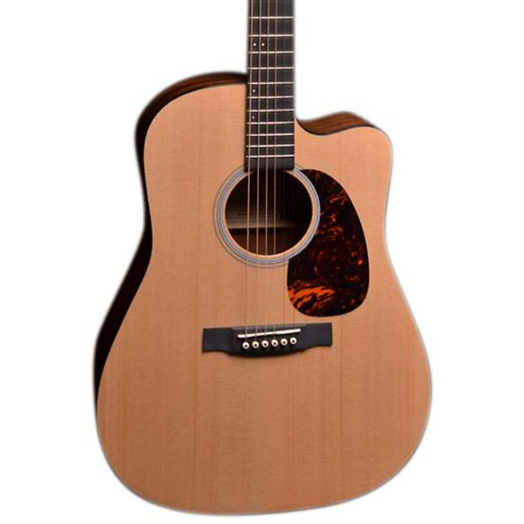 Martin D-14 Fret Cutaway Acoustic-Electric Guitar Sapele Natural