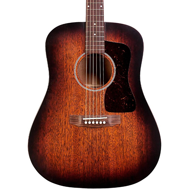 Guild D-20E Dreadnought Acoustic-Electric Guitar Vintage Sunburst