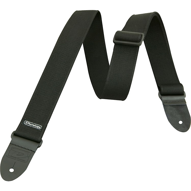 Dunlop D-38 Solid Guitar Strap Black