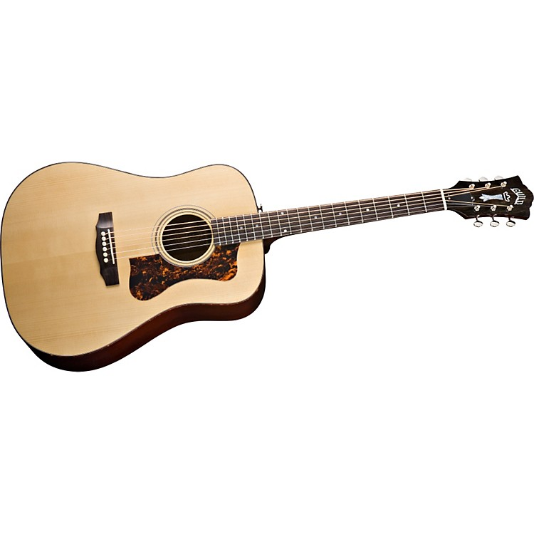 Guild D-40 Bluegrass Jubilee Acoustic-Electric Guitar with DTAR Multi-Source Pickup System Natural