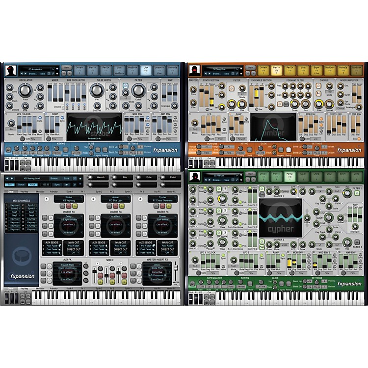 FxpansionD.CAM Synth Squad SystemSoftware Download