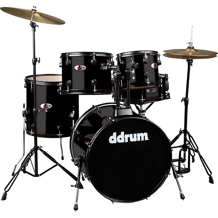 ddrum D120B 5-Piece Drum Set Black