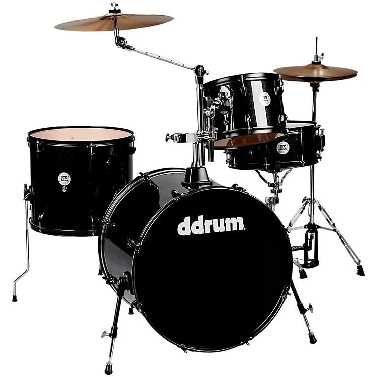 DdrumD2 4-Piece Drum SetBlack Sparkle Black Hardware