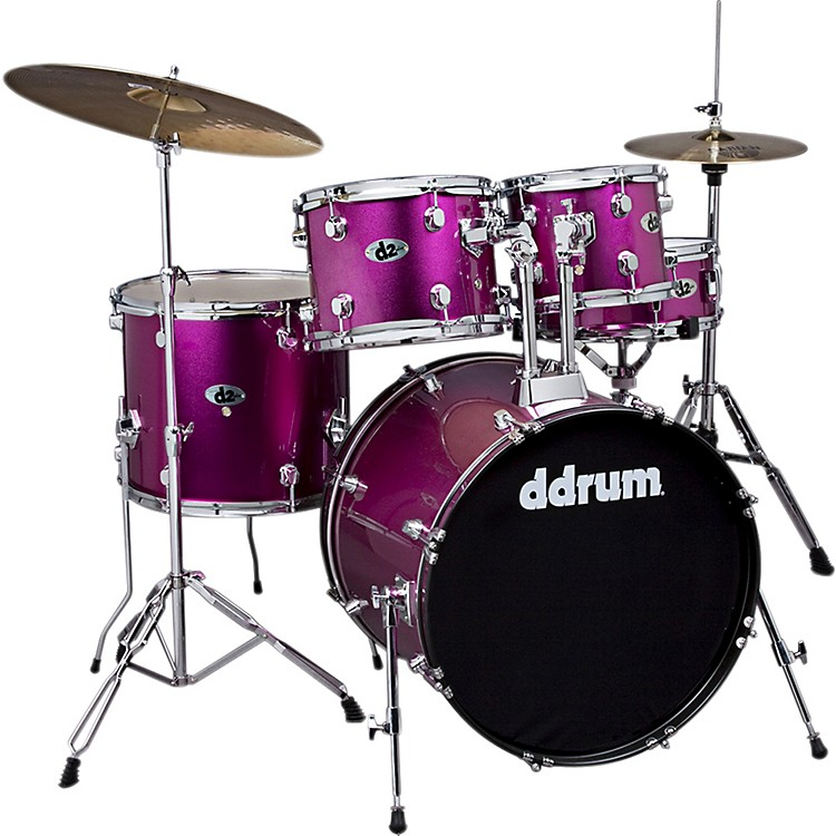 ddrum D2 5-piece Drum Set Pink