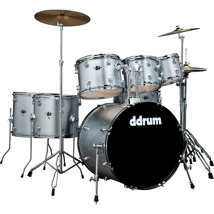 ddrum D2 7-Piece Drum Set with Free Sabian Crash Cymbal