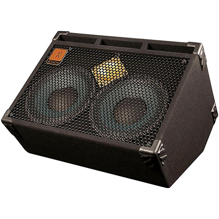 EdenD210 500W 2x10 8ohms Guitar Speaker Cabinet and Monitor Wedge