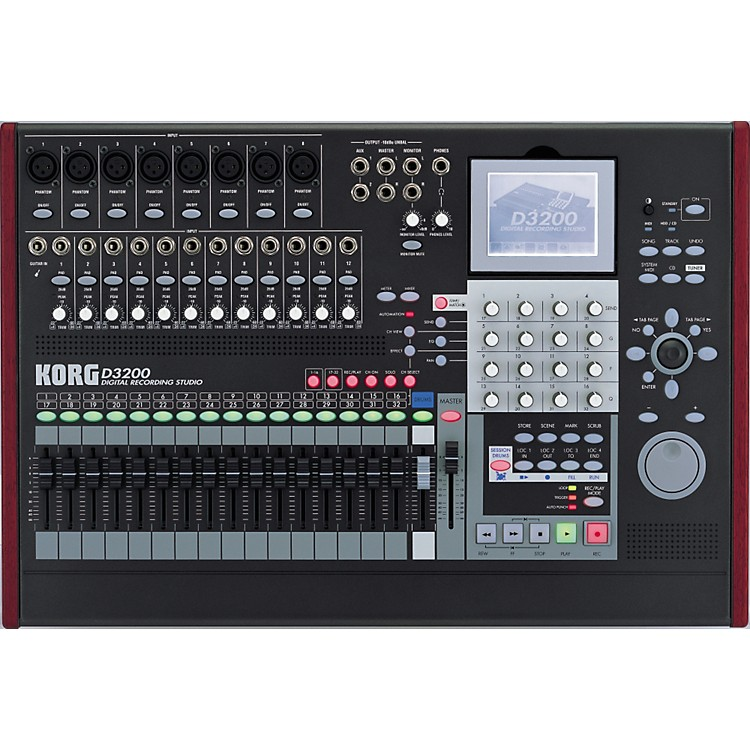 Korg D3200 32-Track Digital Recording Studio