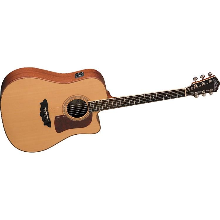 washburn d52swce acoustic electric guitar music123. Black Bedroom Furniture Sets. Home Design Ideas