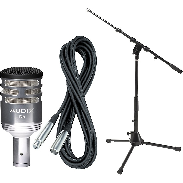 Audix D6 Limited Edition Kick Drum Mic with Cable and Stand