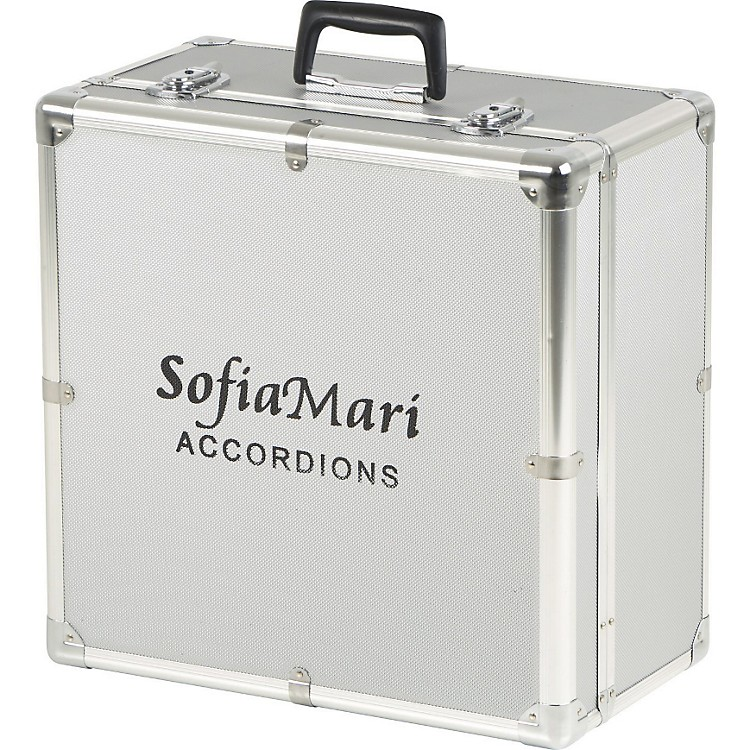 SofiaMari DAC-3112 Deluxe Metal Accordion Case