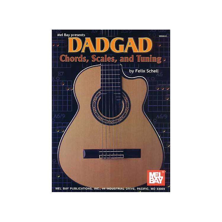 Mel BayDADGAD Chords, Scales, and Tuning Book