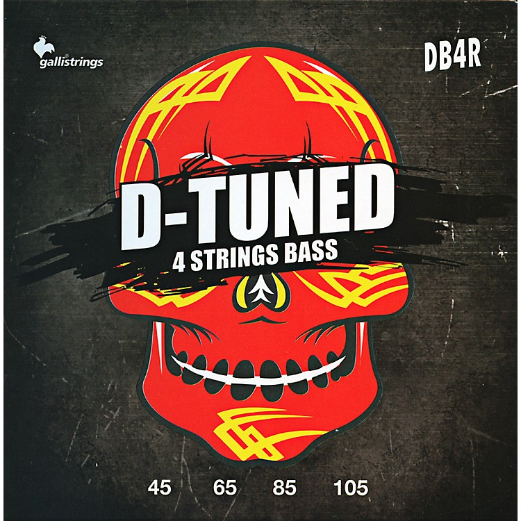 Galli Strings DB4R D-TUNED Bass Strings 45-105