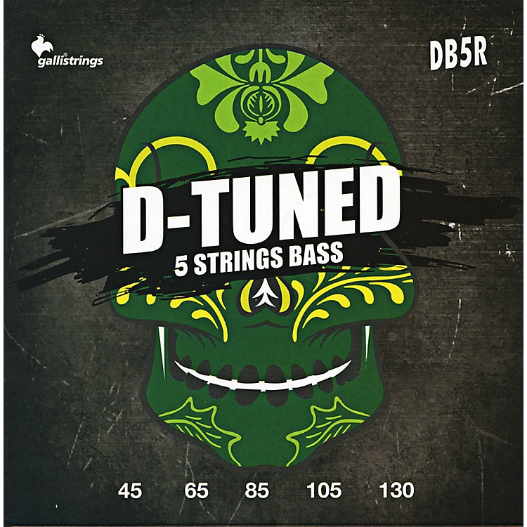 Galli Strings DB5R D-TUNED 5-String Bass Strings 45-130
