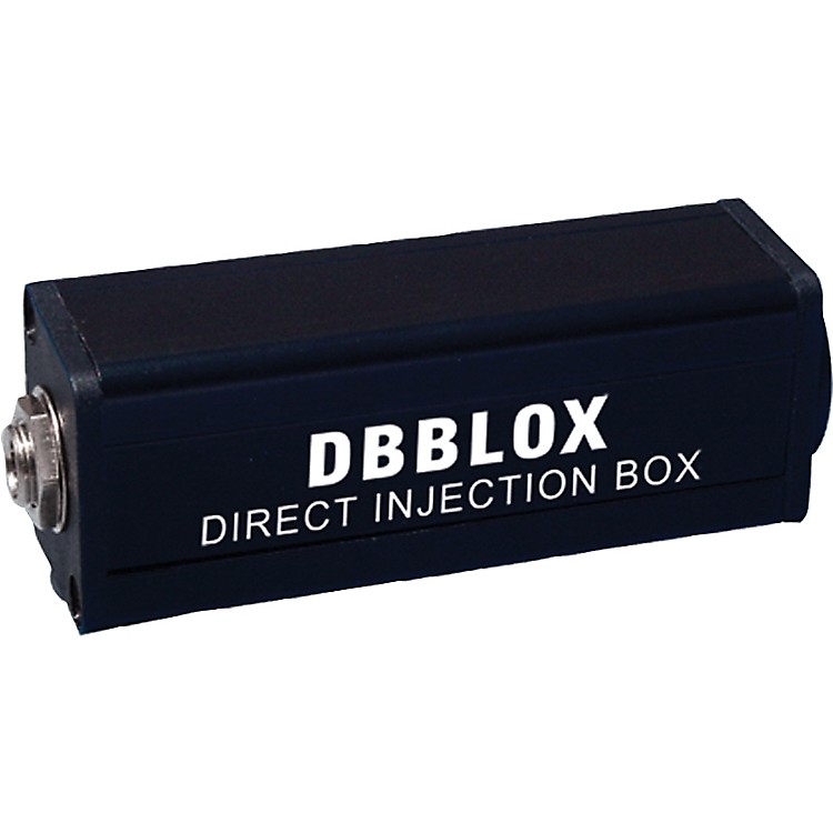 Rapco HorizonDBBLOX Hi to Lo Z Transformer Direct Box