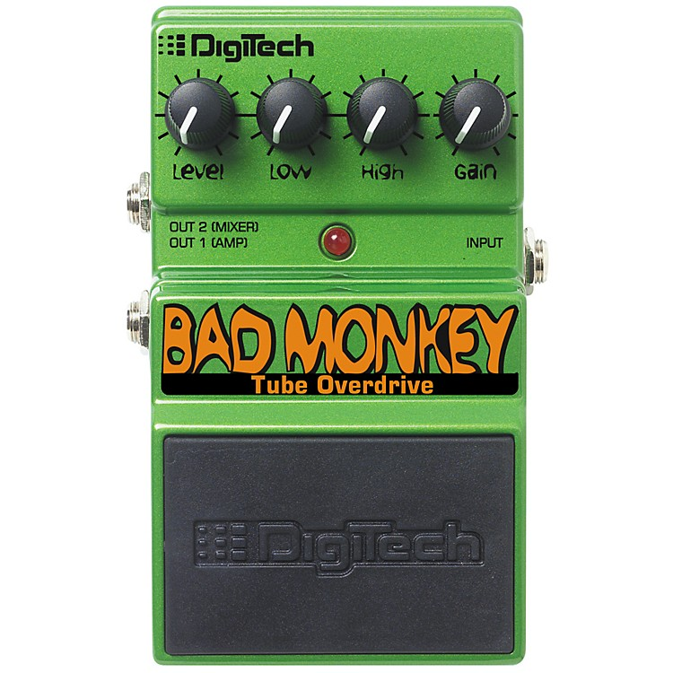 DigiTech DBM Bad Monkey Overdrive Guitar Effects Pedal