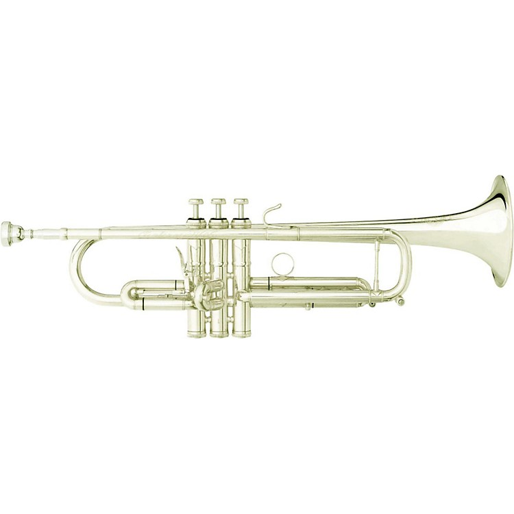 B&S DBX Large Bore X-Series Bb Trumpet with Interchangeable Bell Silver Interchangeable Bell