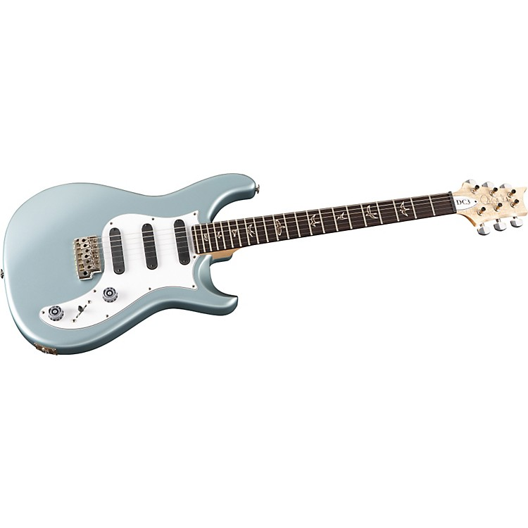 PRS DC3 with Bird Inlays Electric Guitar Powder Blue Rosewood Fretboard