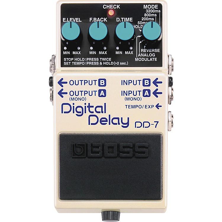 BossDD-7 Digital Delay Guitar Effects Pedal