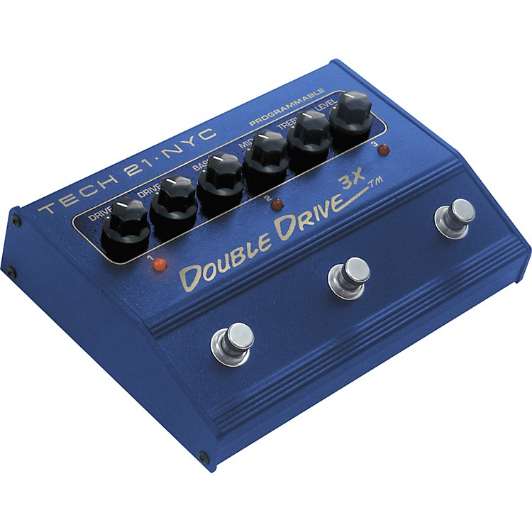 Tech 21 DD3X Double Drive 3X Distortion Pedal