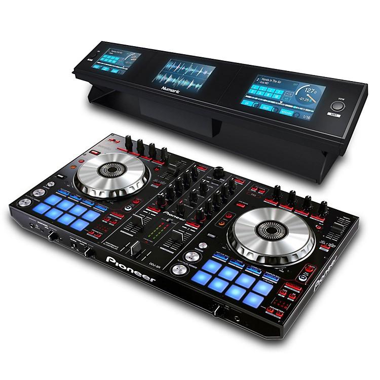 PioneerDDJ-SR Performance DJ Controller with Dashboard 3-Screen Display