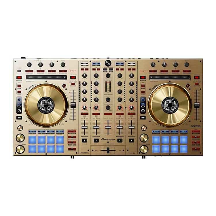 Pioneer DDJ-SX DJ Controller Limited Edition Gold Gold