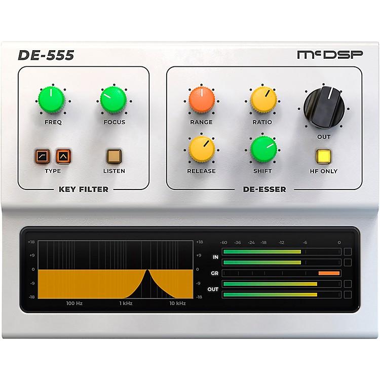 McDSPDE555 De-esser Native v5Software Download