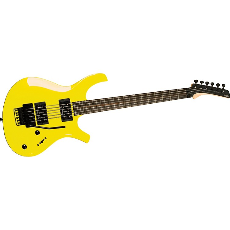 Parker Guitars DF624 DragonFly Bolt-On Electric Guitar with Gloss Finish Taxi Cab Yellow