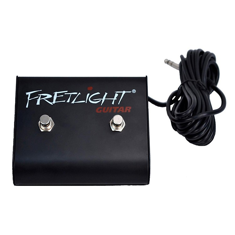FretlightDFS001 Dual Footswitch - Hands-free functionality for