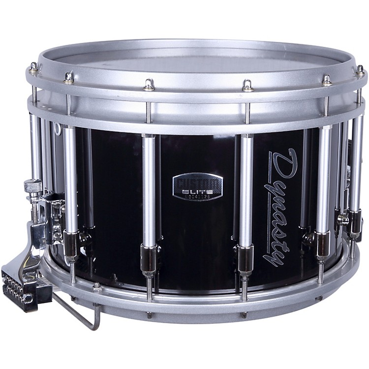 Dynasty DFZ Tube Style Shorty Snare Drum Black 14x10