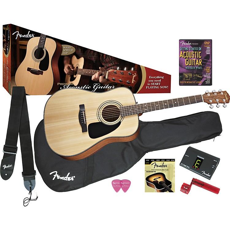 FenderDG-8S Acoustic Guitar Value Pack