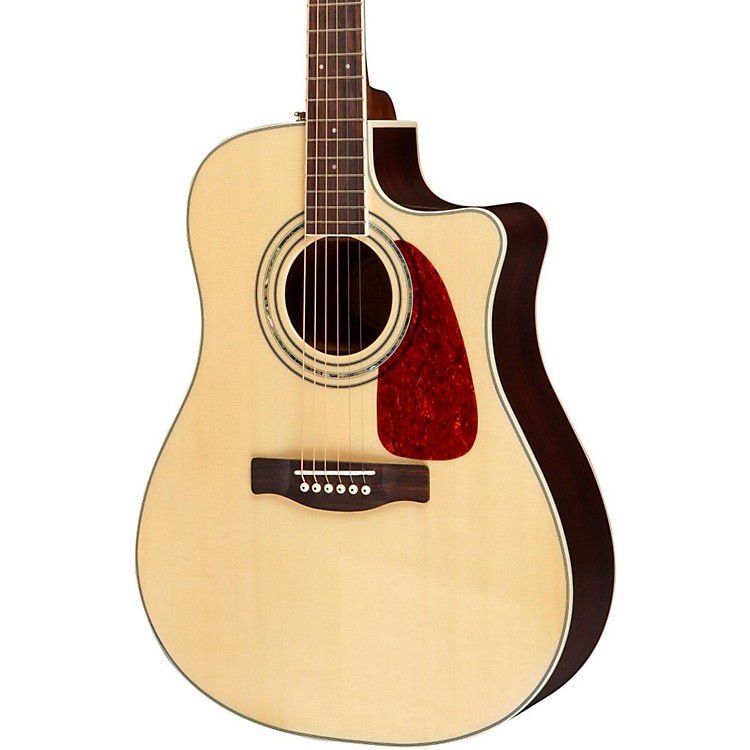 Fender DG200SCE Acoustic-Electric Guitar with Rosewood Back and Sides Natural
